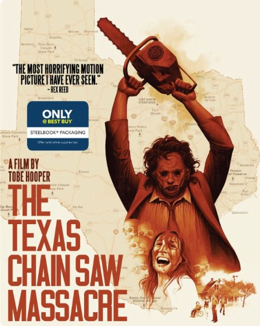 The Texas Chainsaw Massacre steelbook bestbuy