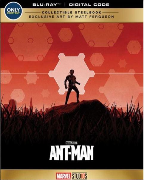 AntMan Steelbook bestbuy