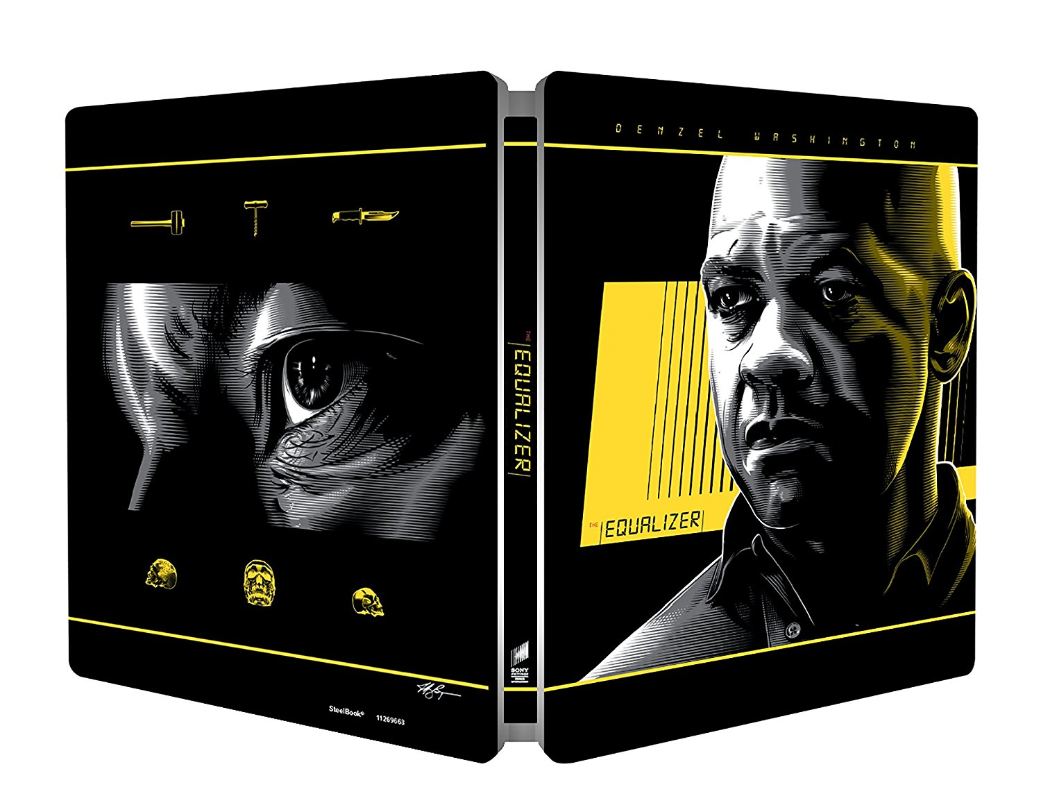 Equalizer steelbook 2