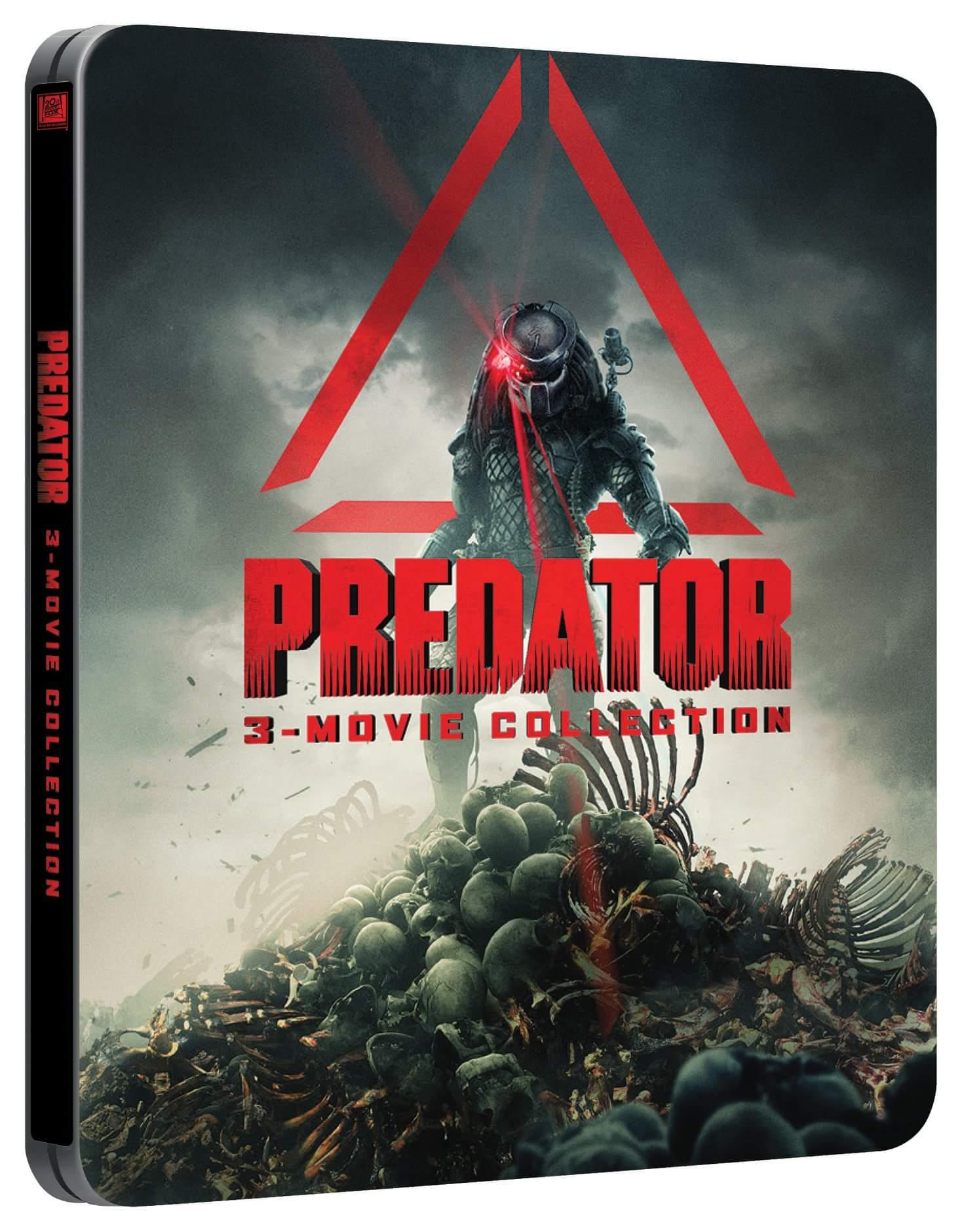 Predator collection steelbook