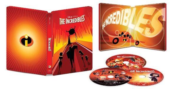 The Incredibles steelbook BestBuy