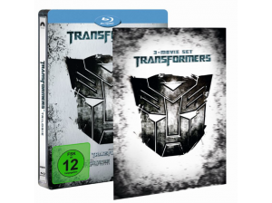 Transformers-1---3-(Steelbook-Media-Markt-Exklusiv-mit-Lenticular)-Action-Blu-ray