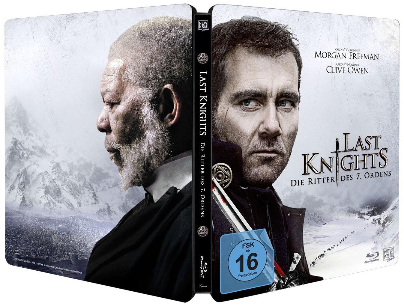 Last Knights steelbook de