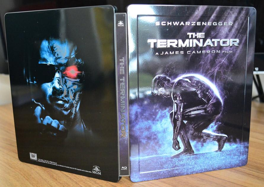 Terminator T1 Quarter steelbook HDzeta