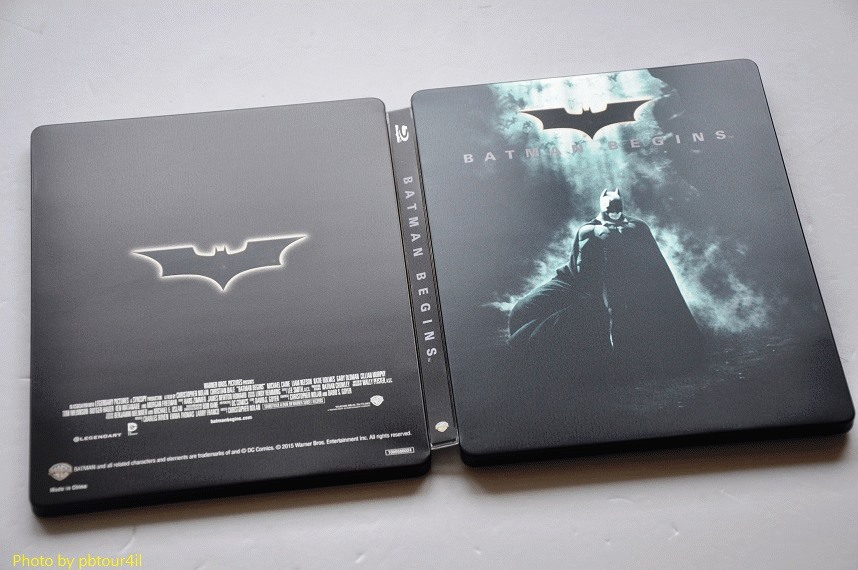 Batman Begins steelbook jp