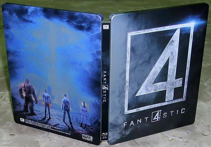 Fantastic 4 steelbook 1