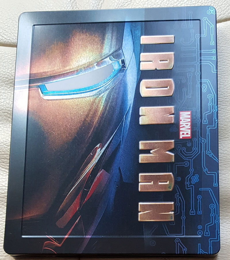 Iron man steelbook zavvi 2