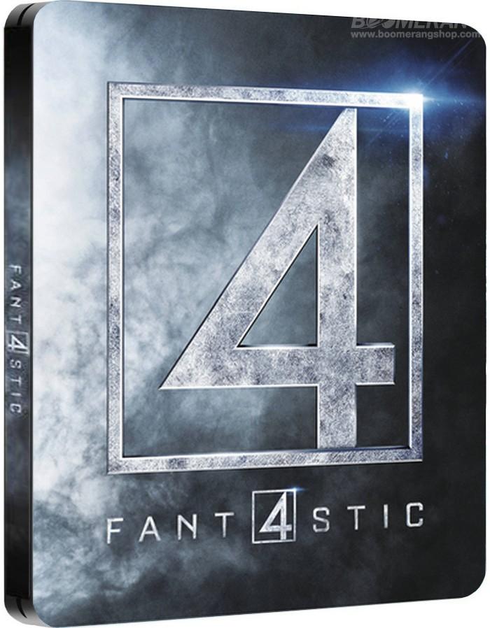 Les 4 Fantastiques 2015 steelbooks 1