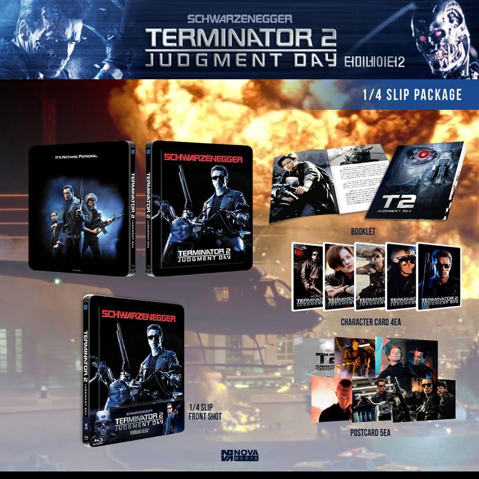 Terminator 2 novamedia steelbook slip
