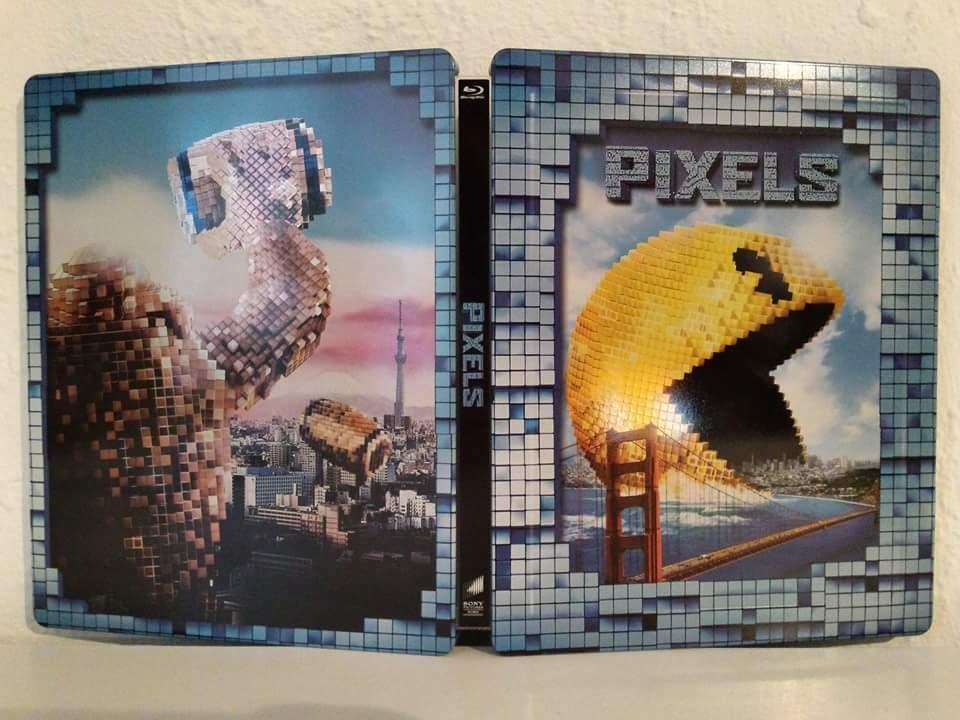 Pixels steelbook mediamarkt 1