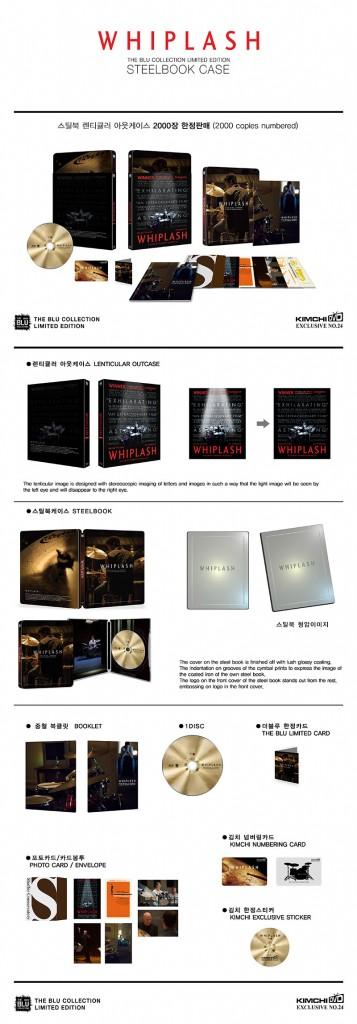Whiplash steelbook kimchidvd 2