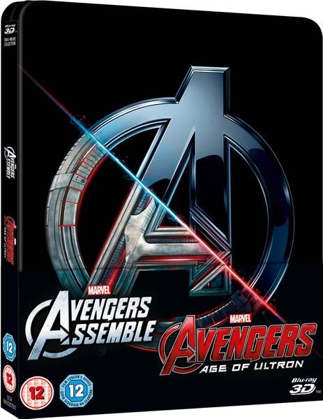 Avengers 1 & 2 steelbook zavvi