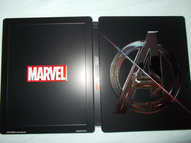 Avengers Double Pack steelbook 2