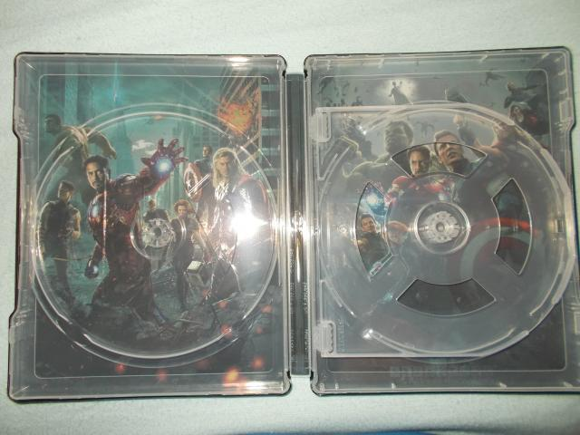 Avengers Double Pack steelbook 3