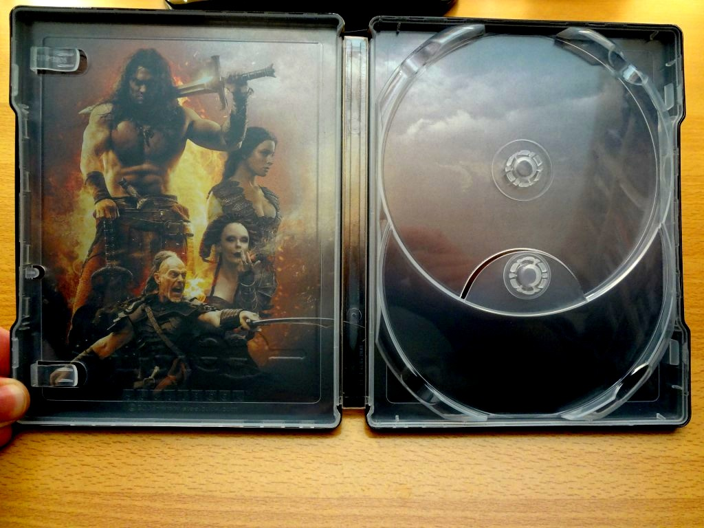 Conan 3D French Embossed Steelbook Inside