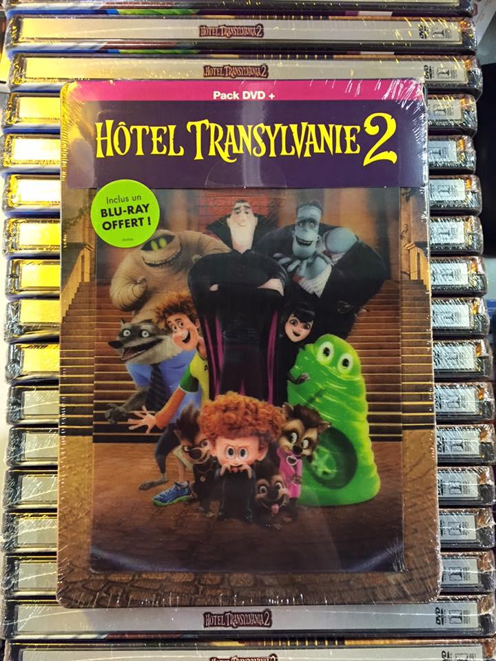 Hotel Transylvanie 2 steelbook G1