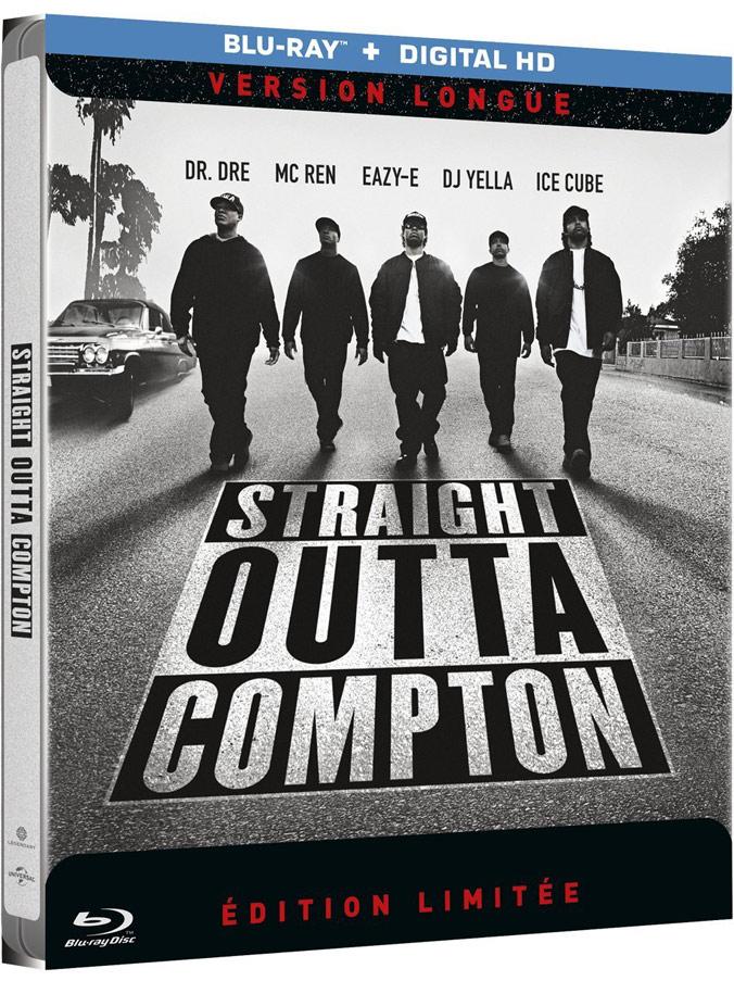 N.W.A. Straight Outta Compton steelbook fr