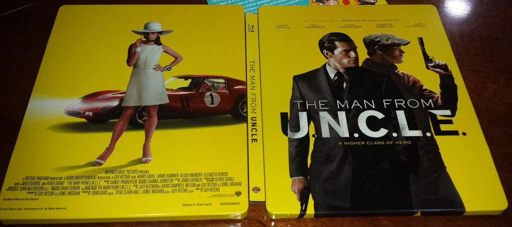 The man from uncle steelbook ES2
