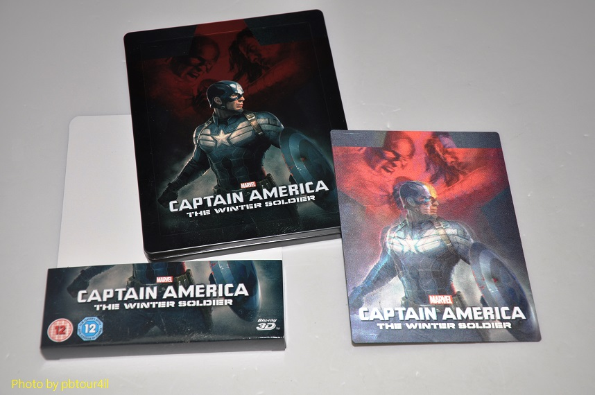 Captain America 2 Le Soldat de l'Hiver  steelbook zavvi