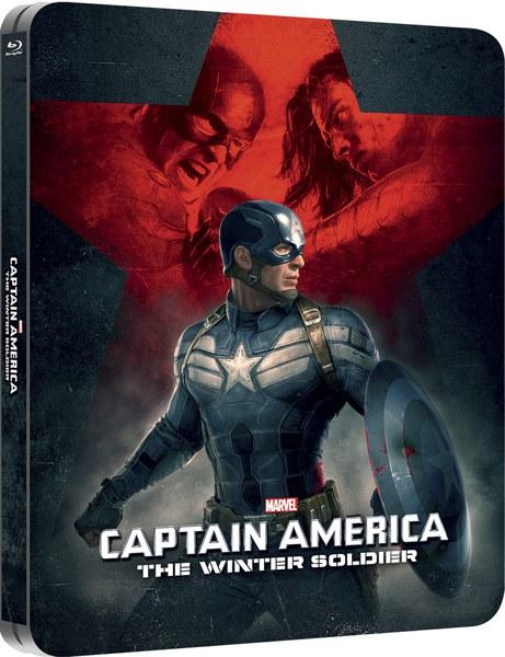 Captain America 2 Le Soldat de l'Hiver steelbook