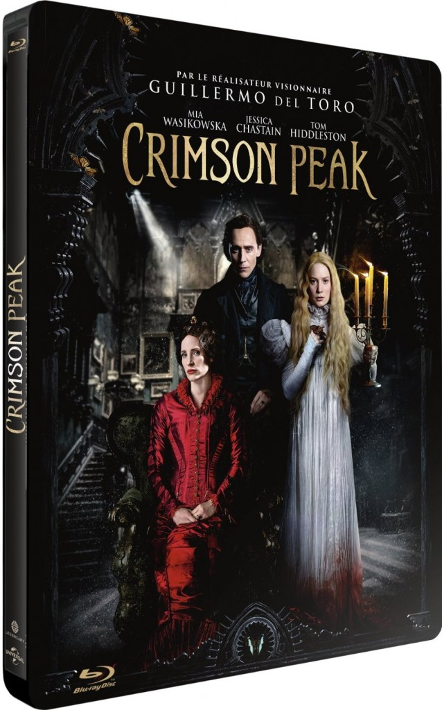 Crimson Peak steelbook FR