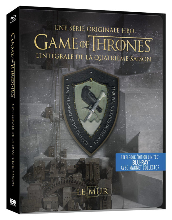 game of thrones saison 4 steelbook