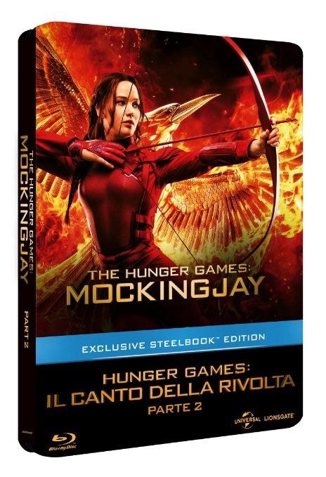 Hunger Games Mockingjay Part 2 steelbook IT