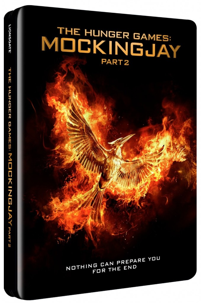 Hunger Games Mockingjay part 2 steelbook 1