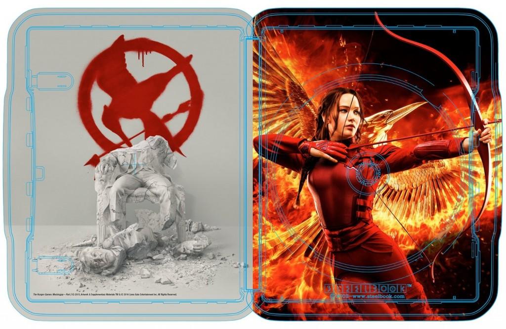 Hunger Games Mockingjay part 2 steelbook 3