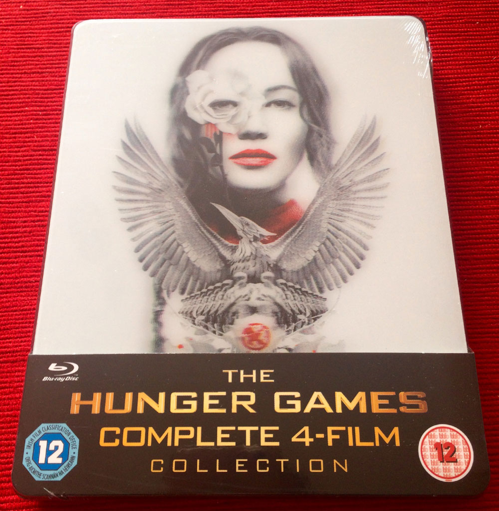 Hunger Games  collection steelbook1