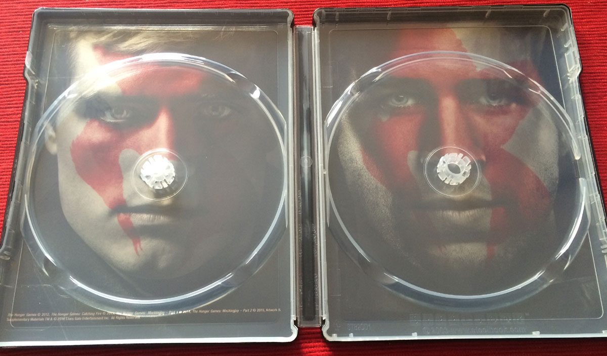 Hunger Games  collection steelbook3