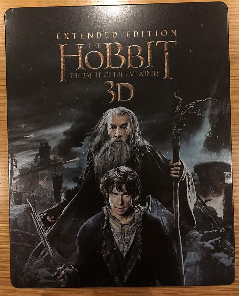 Le Hobbit  La Bataille des Cinq Armees steelbook uk3
