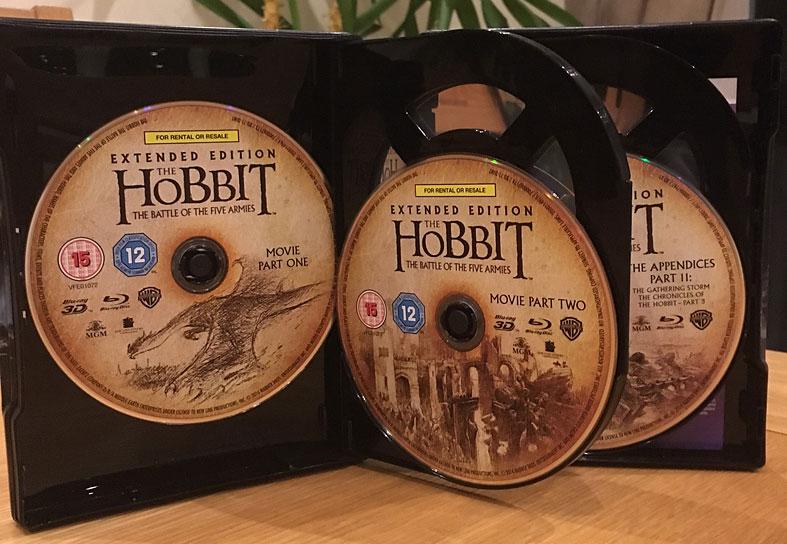 Le Hobbit  La Bataille des Cinq Armees steelbook uk4