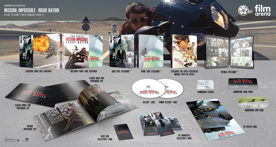 Mission Impossible Rogue Nation steelbook
