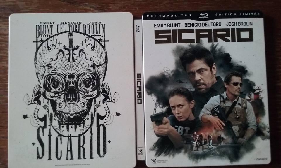 Sicario steelbook fr 1