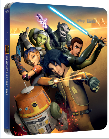 Star Wars Rebels steelbook
