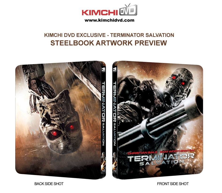 Terminator Salvation steelbook kimchidvd