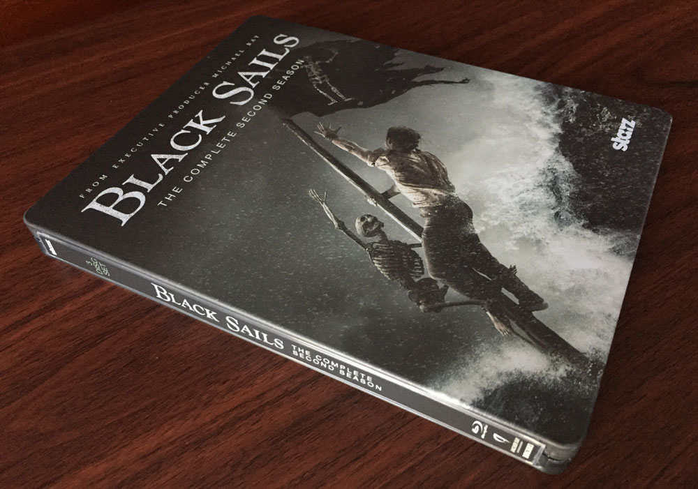 black-sails saison 2 steelbook