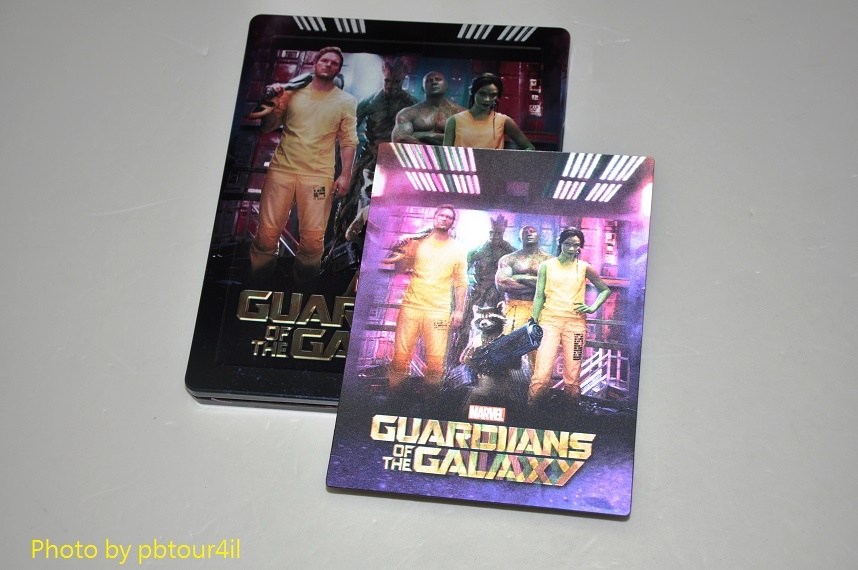 gardiens de la galaxie steelbook zavvi