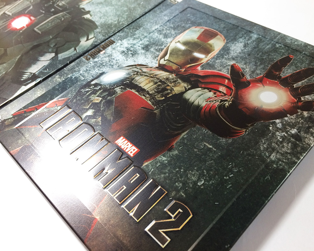 iron man 2 steelbook zavvi3