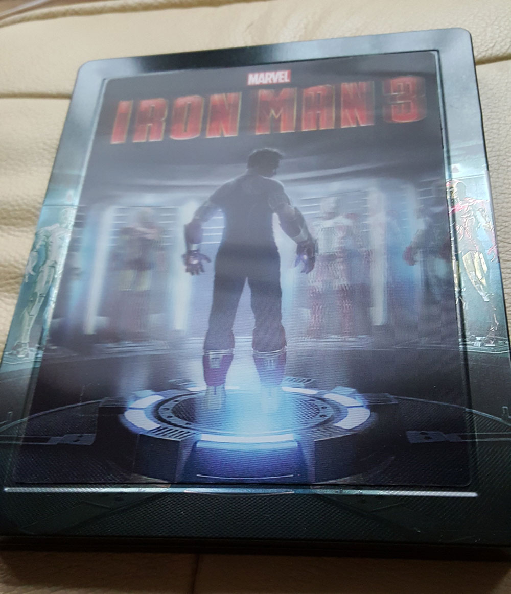 iron man 3 steelbook zavvi3