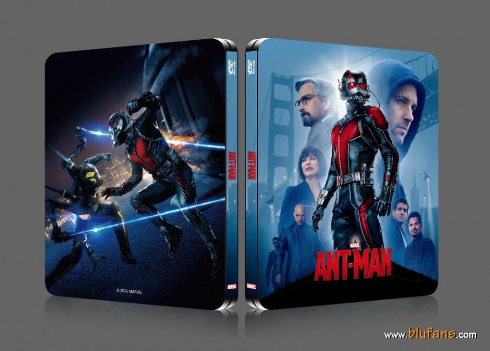 Ant-Man steelbook blufans