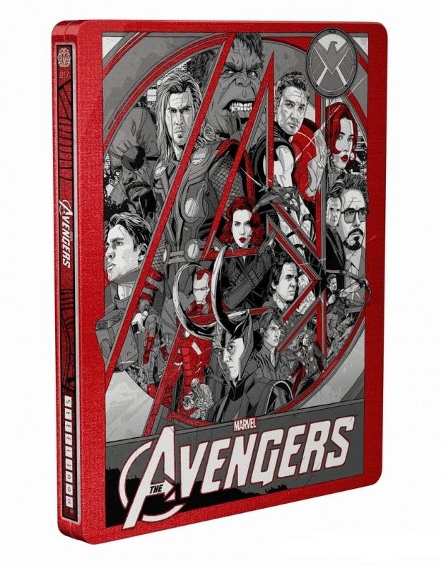 Avengers steelbook Mondo 2