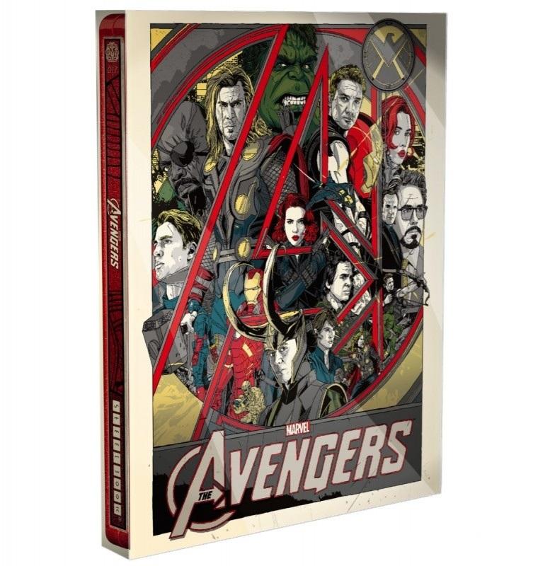 Avengers steelbook Mondo 4