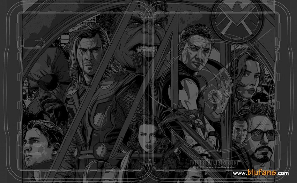Avengers steelbook Mondo 5