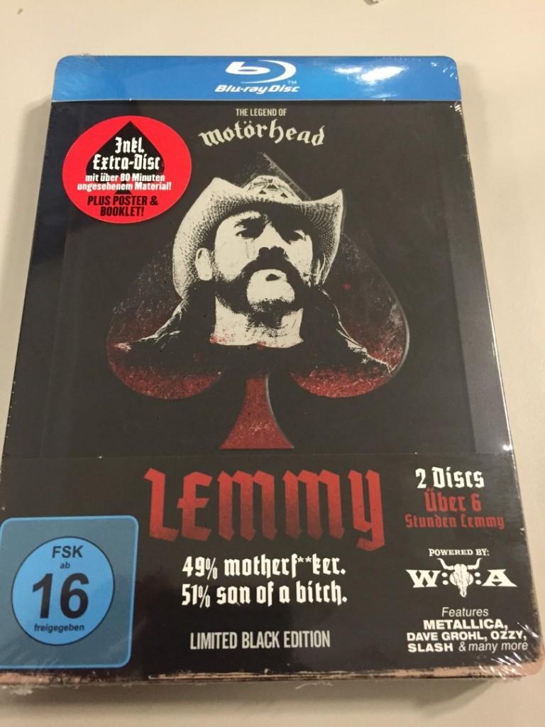 Lemmy movie steelbook 1