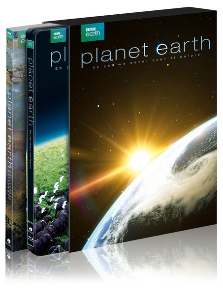 Planet Earth steelbook 1