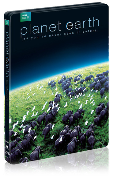 Planet Earth steelbook 3