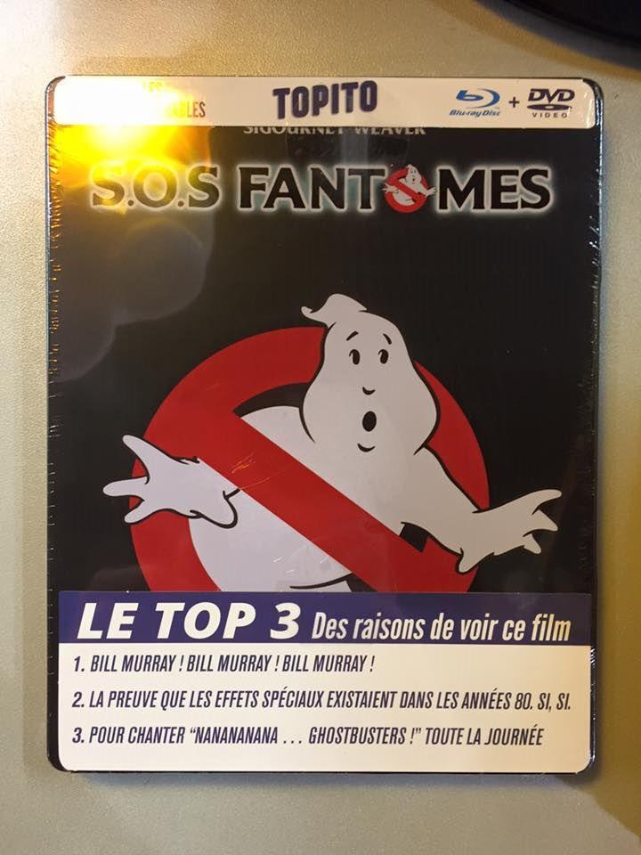 SOS Fantomes metalpak