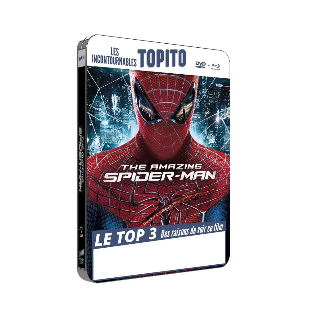 The Amazing Spiderman steelbook fr